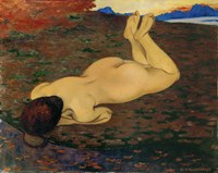 Woman Relaxing, 1899 Fine Art Print