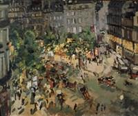 Boulevard des Capucines, Paris Fine Art Print
