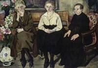 The Utter Family, 1921 Fine Art Print