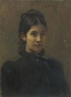 Portrait of a Young Woman Fine Art Print