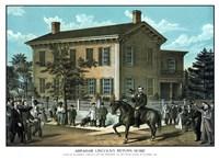 Abraham Linclon's Return Home Fine Art Print