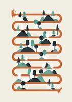 Foxy Stripes Fine Art Print