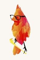 Punk Birdy Fine Art Print