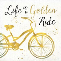 Golden Ride I Fine Art Print