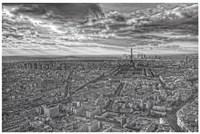 Overlooking Paris Fine Art Print