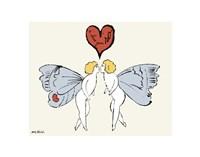 I Love You So, c. 1958 (angel) Fine Art Print