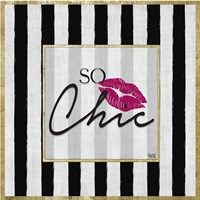So Chic I Fine Art Print