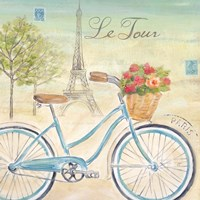 Paris Bike Tour I Fine Art Print