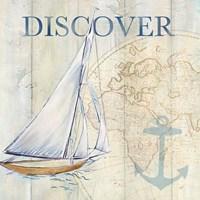Sail Away II Framed Print