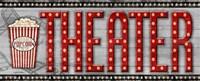 Movie Marquee Panel II (Theater) Fine Art Print