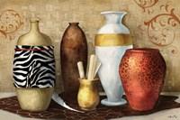 Safari Vase Fine Art Print