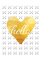 Hello 2 Framed Print
