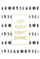 Light shine Framed Print