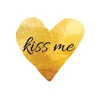 Kiss Me (Square) Fine Art Print