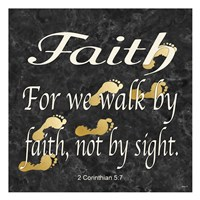 Faith Walk Fine Art Print