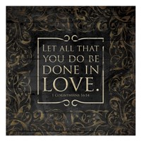 Done In Love Fine Art Print