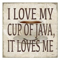 Love Java Fine Art Print