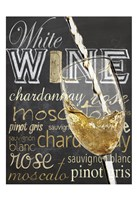 Wine Glass White Fine Art Print