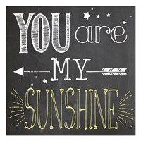 You Are My Sunshine 1 Fine Art Print