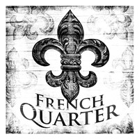 French Quarters BW Fine Art Print