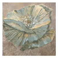 Rian Withaar Blue Flower Fine Art Print