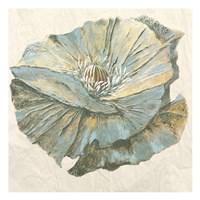 Sapphire Bloom 1 Fine Art Print