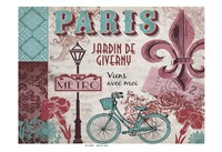 Paris Series Pinks 2 Fine Art Print