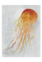 Coastal Watercolor Brights 3 Fine Art Print