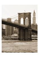 Brooklyn Bridge 47 I Framed Print