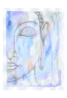 Radiant Buddha Fine Art Print