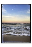 Wave Curl with Border Fine Art Print