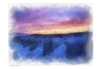 Beach Colors Watercolor Fine Art Print