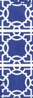 Blue Pattern Fine Art Print