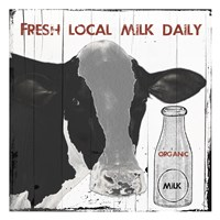 Fresh Local Milk Fine Art Print