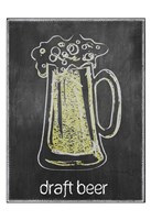 Draft Beer Chalk Fine Art Print