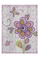 Boho Flower II Framed Print