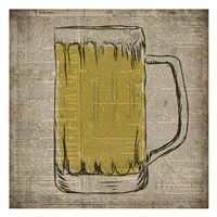Dictionary Beer Fine Art Print