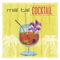 Mai Tai Cocktail Fine Art Print
