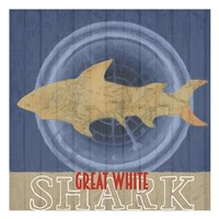Great White Fine Art Print
