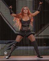 Becky Lynch 2014 Posed Fine Art Print