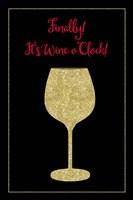 Wine O Clock Fine Art Print
