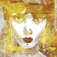 Gold Girl Fine Art Print