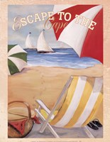 Escape To The Cape Fine Art Print