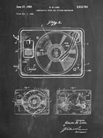 Record Player Fine Art Print