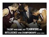 Teamwork Fine Art Print