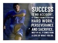 Success is No Accident Fine Art Print
