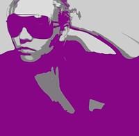 Niki In Glasses Fine Art Print