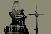 Drummer Fine Art Print