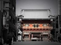 Shrine In Tokyo Fine Art Print