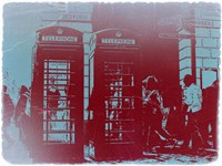 London Telephone Booth Fine Art Print